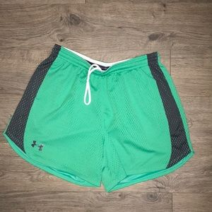 Under Armour Shorts, Green and grey